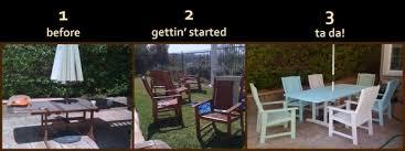 painting patio furnitureTop Spray Paint Archives Hello Remix Summer Apartment Patio