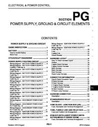 2013 infiniti g37 power supply ground circuit elements 2013 infiniti g37 power supply ground circuit elements section pg 122 pages
