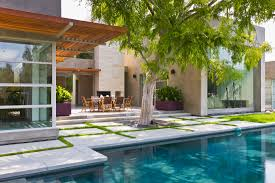 Indoor Outdoor Pool Residential Bentley Residence Shubin Donaldson