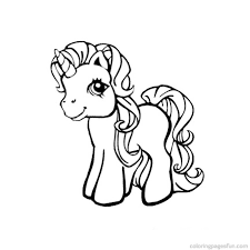 Unicorn coloring pages are the perfect escape from reality. Baby Unicorn Coloring Pages Coloring Home