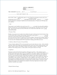 Free Lease Rental Agreement Forms Ez Landlord Forms Good Printable