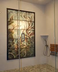 nautilus shower mural handmade ceramic tile art