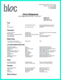 Dance Resume For College Chic Design Dance Resume Examples 24 How To Write A For College 21