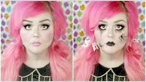 cute or creepy broken doll makeup tutorial you