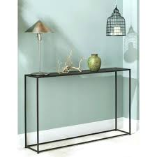 glass entry table modern glass entry table best narrow console table ideas on hall within skinny