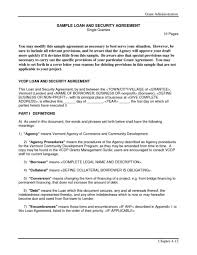 Bank Loan Agreement Format Bank Loan Agreement Format Oloschurchtp 4