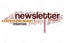 Newsletter In Word Newsletter Word Cloud Stock Photo Picture And Royalty Free Image