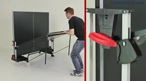 Как собрать <b>Теннисный стол Donic Indoor</b> Roller 400 - YouTube