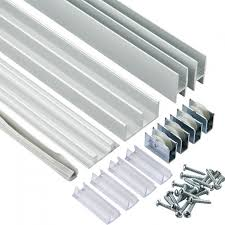 sliding cabinet doors tracks. Aluminum E-Z Glide Tracks Sliding Cabinet Doors
