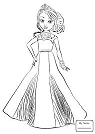 Descendants 2 Coloring Pages Uma Free Library For Alluring 4