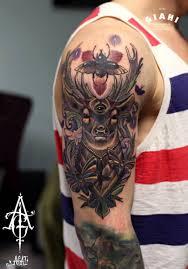 Bug Third Eye Buck Moth Tattoo By Agat Artemji Best Tattoo Ideas