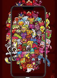 wallpaper doodle art wallpaper