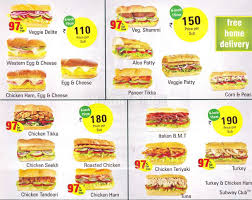 subway menu prices. Unique Subway Please Sign In To View This Menu With Subway Menu Prices M