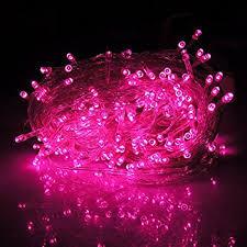 Pink String Lights