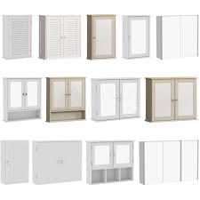 bathroom cabinet mirrored door
