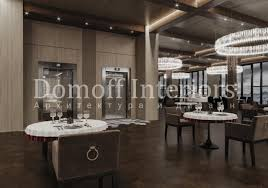 """Interior design project of a commercial property """"Multifunctional ..."""
