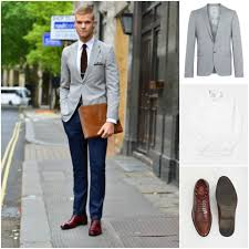 Light Grey Trousers Brown Shoes Navy Chinos 9 Ways To Wear This Summer Favourite Mens