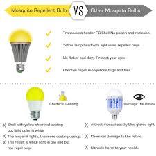 Yellow Light Bulbs Repel Bugs Mosquito Repellent Light Bulb Auko Bugs Zapper Spider