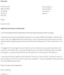Example Of Bartender Resume Beauteous Resume Examples For Bartender Universitypress