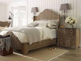 T Modern Distressed Wood Bedroom Furniture