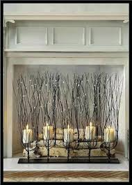 fireplace candles candle insert electric seas candlesticks