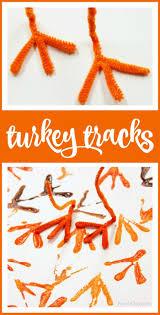 Turkey Track Designs How To Easily Make Turkey Tracks Turkey Art With Kids Pre