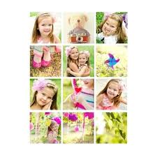 Postcard Collage Template Collage Postcard Template