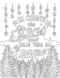 Scripture Coloring Page Psalm 1474 I Love Jesus Bible Verse