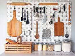 Pegboard Kitchen Kitchen Pegboard Wall Pegboard Ideas