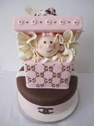 Designer Baby Shower Cakes