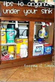 under the sink organization ideas kitchen sink organizer ideas under the kitchen sink organizer best organize