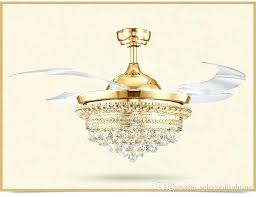 chandelier with ceiling fan ceiling fan chandelier lights modern crystal ceiling fans with remote control retractable