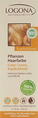Logona Hair Dye Color Chart Logona Herbal Hair Color Cream Copper Blonde 5 07 Ounce