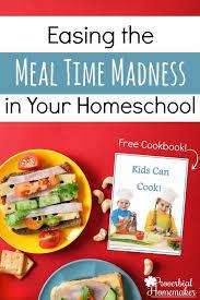 Healthy Lunch Ideas For Homeschool