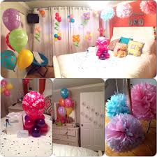 room decoration as a surprise for my best friend s birthday