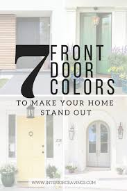 inside front door colors. 7 FRONT DOOR COLORS - Inspiration Images And Paint Color Listed Inside Front Door Colors O