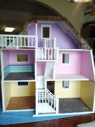 wooden barbie doll house furniture. 3 Story Custom Made Wood Barbie Doll House Wooden Dream Dollhouse - New \u0026 Sturdy In Dolls Bears, Dolls, Contemporary Structures Furniture