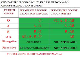 Transfusion Compatibility Chart Blood Transfusion Medicotimes Pgmee
