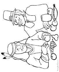 Printable Happy Thanksgiving Coloring Pages 014