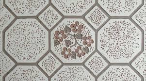 vintage floor tiles flower me happy vinyl tile india