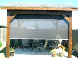 outdoor shades interesting exterior roller curtains shade window outstanding