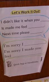 best ideas about conflict resolution activities simple and concise sentence frames to help 2nd graders conflict resolution