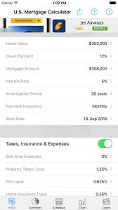 Usmortgage Calculator U S Mortgage Calculator On The App Store