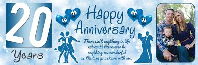 happy anniversary banners 20th anniversary banners archives vinyl banner printing