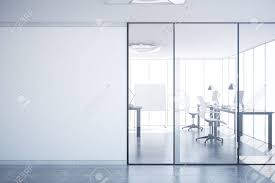 glass office door. Astonishing Modern Simple Office Interior With Glass Blank Wall Picture Of Door Ideas And All Popular C