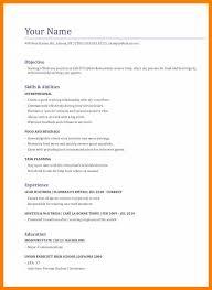 Waiter Resume Sample Cover Letter For Deloitte