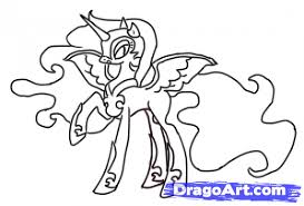Small Picture My Little Pony Friendship Is Magic Nightmare Night Coloring