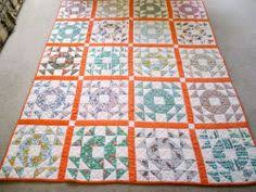 Dear Edna: Single Wedding Ring Quilt | Quilts - lover's knot and ... & Vintage Antique Handmade Quilt Old English Single Wedding Ring Quilt Adamdwight.com