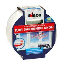 Самоклеящаяся <b>лента</b> UNIBOB для <b>окон</b> купить по цене 161 руб ...