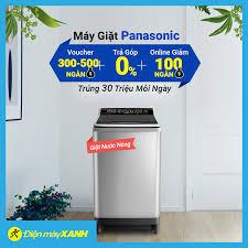 Điện máy XANH (dienmayxanh.com) - Máy Giặt Nước Nóng Panasonic - 100% Có  Quà